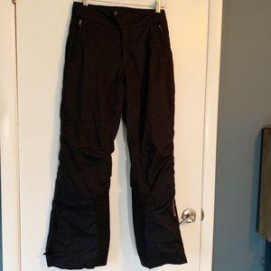 Columbia Titanium Black Ski Snowpants size small